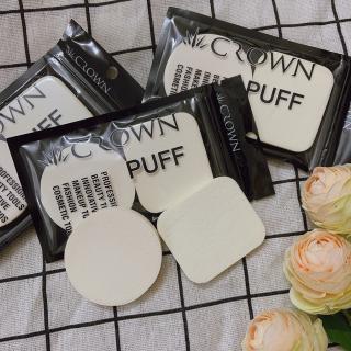 Set 2 Mút trang điểm CROWN chất liệu xốp mềm mại , Bông trang điểm,Dụng cụ trang điểm TK-BM02 thumbnail