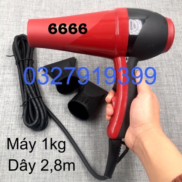 Máy sấy tóc cao cấp chuẩn salon 6680 2300W cao cấp