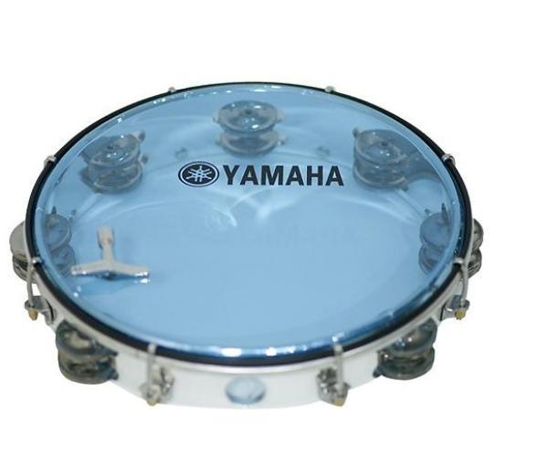 Trống lục lạc lắc tay - Lục lạc gõ bo Inox Tambourine Yamaha
