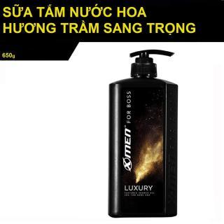[HCM]Sữa tắm nước hoa XMen for Boss Luxury 650g thumbnail