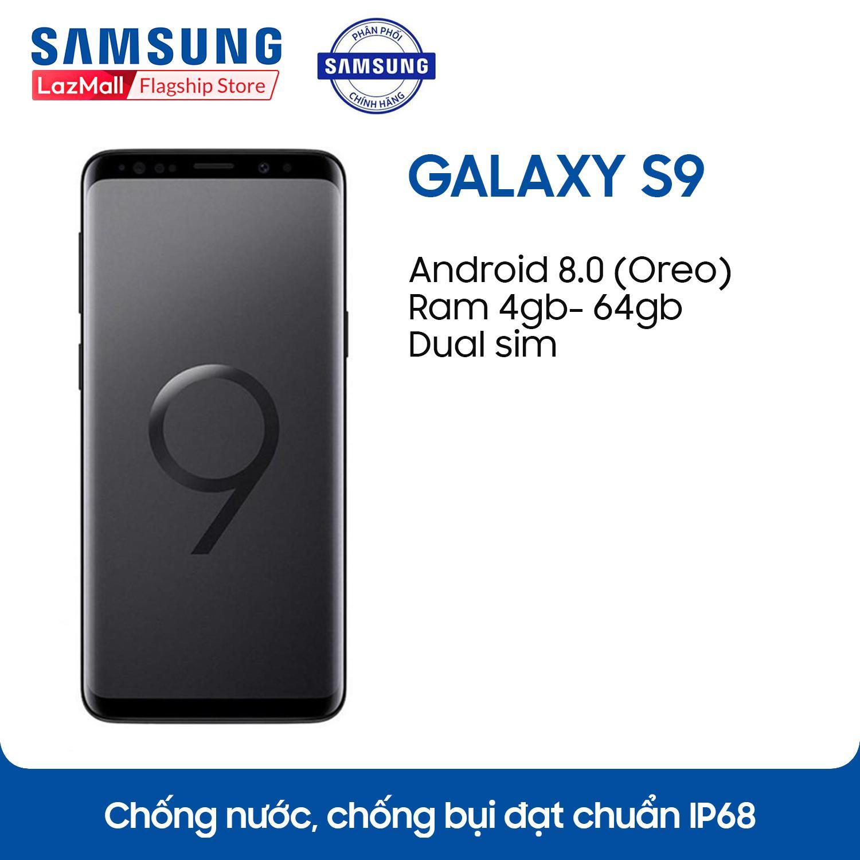 Điện thoại Samsung Galaxy S9 - 4GB RAM - 64GB ROM - 5.8 inch - - Android điện thoại thông minh