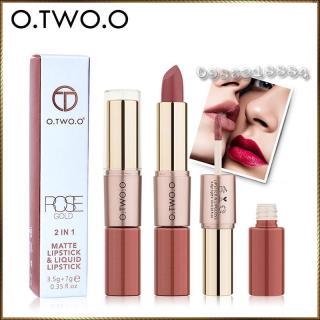 Thỏi son kem hỗn hợp O.TWO.O 2 in 1 Matte Lipstick & Liquid Lipstick thumbnail