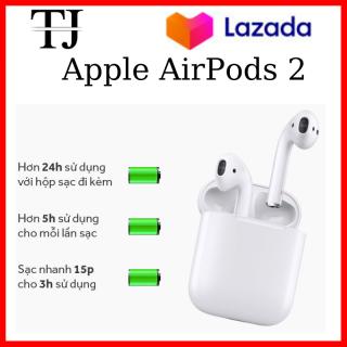 [ Flash Sale ] Tai Nghe Bluetooth Apple AirPods 2-Hổ Vằn-Chip1562M - Tai Nghe Không Dây Iphone Bass Mạnh - Công Nghệ Xuyên Âm- Chống Ồn Chủ Động-Cảm Ứng Lực -Kháng Nước-Mồ Hôi IPX4- Pin Trâu12h-Kiểu Dáng Cá Tính-Sang Trọng-Tặng Túi CaSe. thumbnail