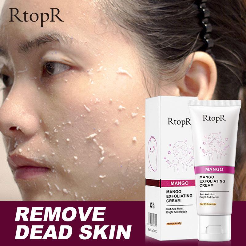 RtopR Sữa rửa mặt tẩy tế bào chết dưỡng trắng bật tông êm dịu cho da nhạy cảm da mụn đánh bay mụn đầu đen