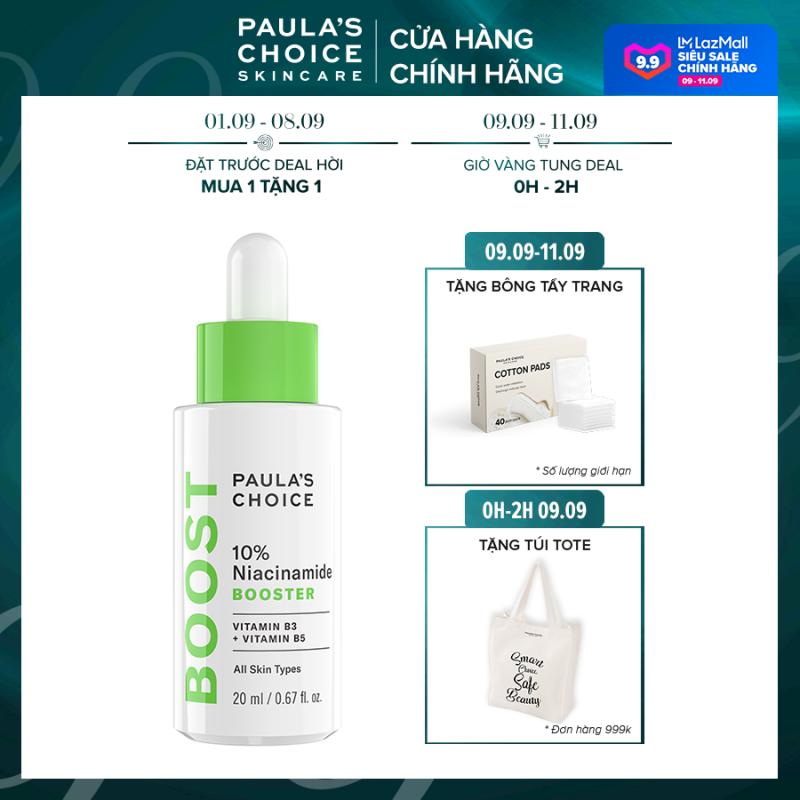Tinh chất se khít lỗ chân lông và làm sáng da chứa Paula's Choice 10% Niacinamide Booster-7980 giá rẻ