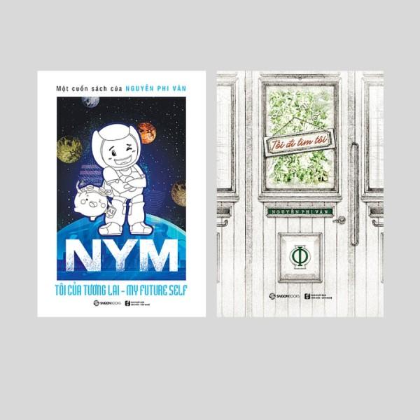 Bộ: NYM - Tôi của tương lai (Bản thường) + Tôi đi tìm tôi (Bộ 2 cuốn)