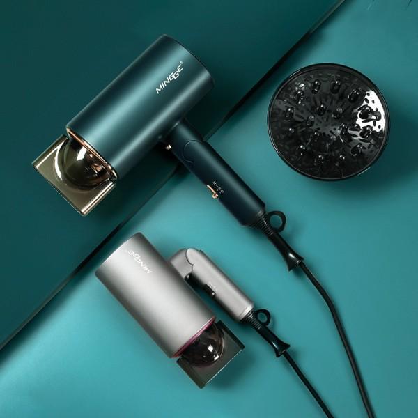 Máy sấy tóc Mingge tạo kiểu 2 chiều nóng lạnh công suất 1800W  AKIO Mart