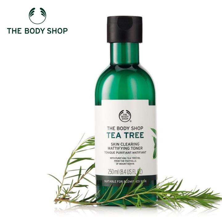 Nước cân bằng da THE BODY SHOP Tea Tree Skin Clearing Toner 250ml