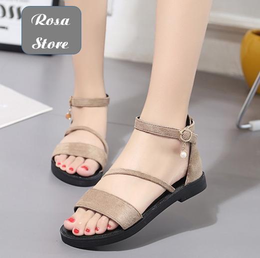 Giá Quá Tốt Để Có Giày Sandal Chéo 1 Dây Rosa SD-0139