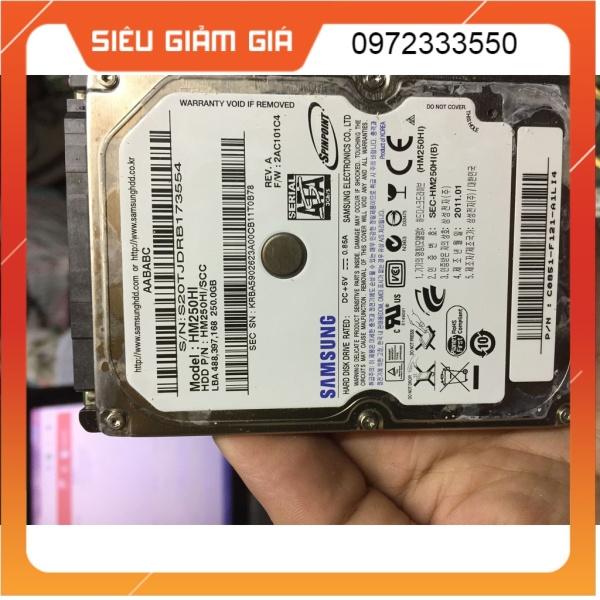 Bảng giá Ổ Cứng HDD Laptop chuẩn SATA 250Gb Sức khỏe GOOD Phong Vũ