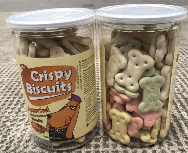 Bánh thưởng cho chó Crispy Biscuits 380g