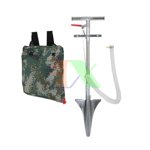 Máy bón phân dạng xẻng TMP-03A, Dụng cụ bón phân Inox đeo vai lưng, Túi bón phân