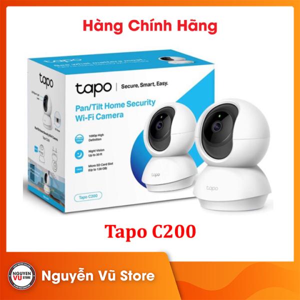 Thiết bị Camera Wi-Fi TP Link Tapo C200 1080p An Ninh Gia Đình Chỉnh Hướng 360