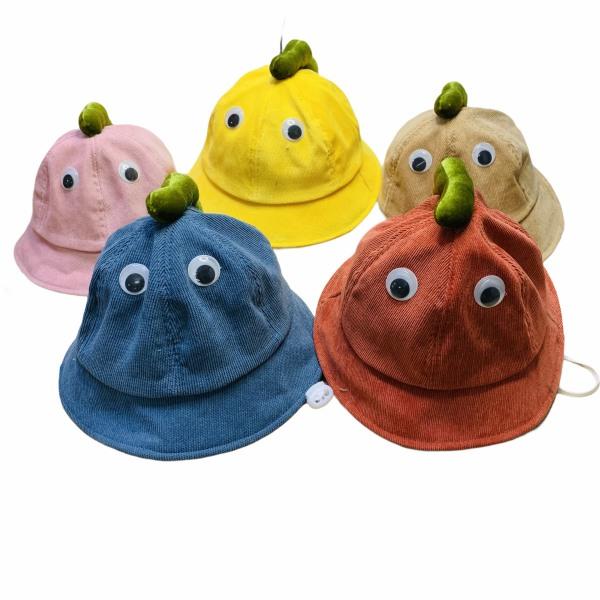 Giá bán Mũ Trẻ Em Hình Khủng Long Đáng Yêu Cho Bé Từ 1-2 Tuổi, Mũ Bucket Cho Bé Chất Vải Nhung Mịn Thoáng Mát Kèm Quai Nón