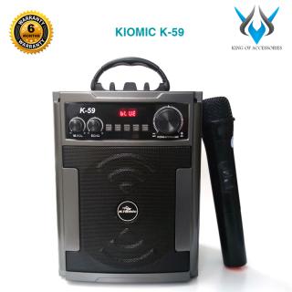 [HCM]Loa karaoke mini 20W KIOMIC K-59 giả gỗ âm thanh cực hay- kèm micro không dây (Màu Random) Phụ Kiện 1986 thumbnail