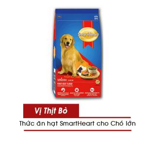 [HCM]Thức Ăn Cho Chó Lớn SmartHeart Adult Roast Beef Flavor Gói 1.5KG & 3KG - Vị Bò Nướng- [Nông Trại Thú Cưng] thumbnail