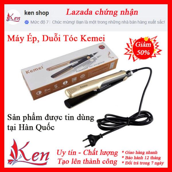 [HÀNG XỊN] Máy Duỗi Tóc 4 Mức Chỉnh Nhiệt Kemei KM 327- Máy duỗi tóc mini- Máy duỗi tóc cao cấp- Máy duỗi tóc chỉnh nhiệt- Máy uốn tóc- Máy duỗi tóc- Máy uốn tóc mini cao cấp
