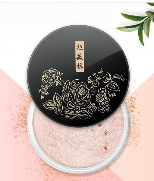 Phấn Phủ Trang Điểm Dạng Bột HOA ĐEN 3595 LAMEILA makeup powder kiềm dầu che khuyết điểm lâu trôi mềm mịn tự nhiên kiềm dầu nội địa chính hãng sỉ rẻ giá rẻ