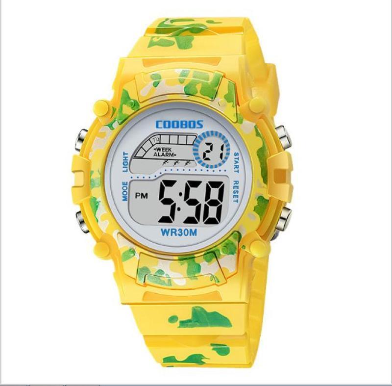 Nơi bán Đồng hồ trẻ em thể thao cho Bé Đồng hồ bé trai và bé gái không thấm nước và có đèn dạ quang Đồng hồ điện tử trẻ tiểu học và trung học