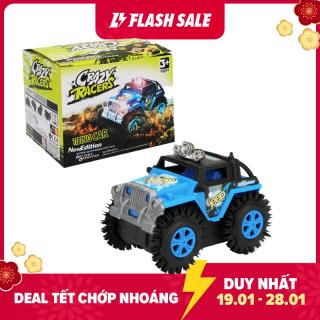 Đồ chơi cho bé chạy pin xe Jeep chạy khỏe,xa với nhựa ABS không độc hại (nhiều màu sắc) - KAVY thumbnail