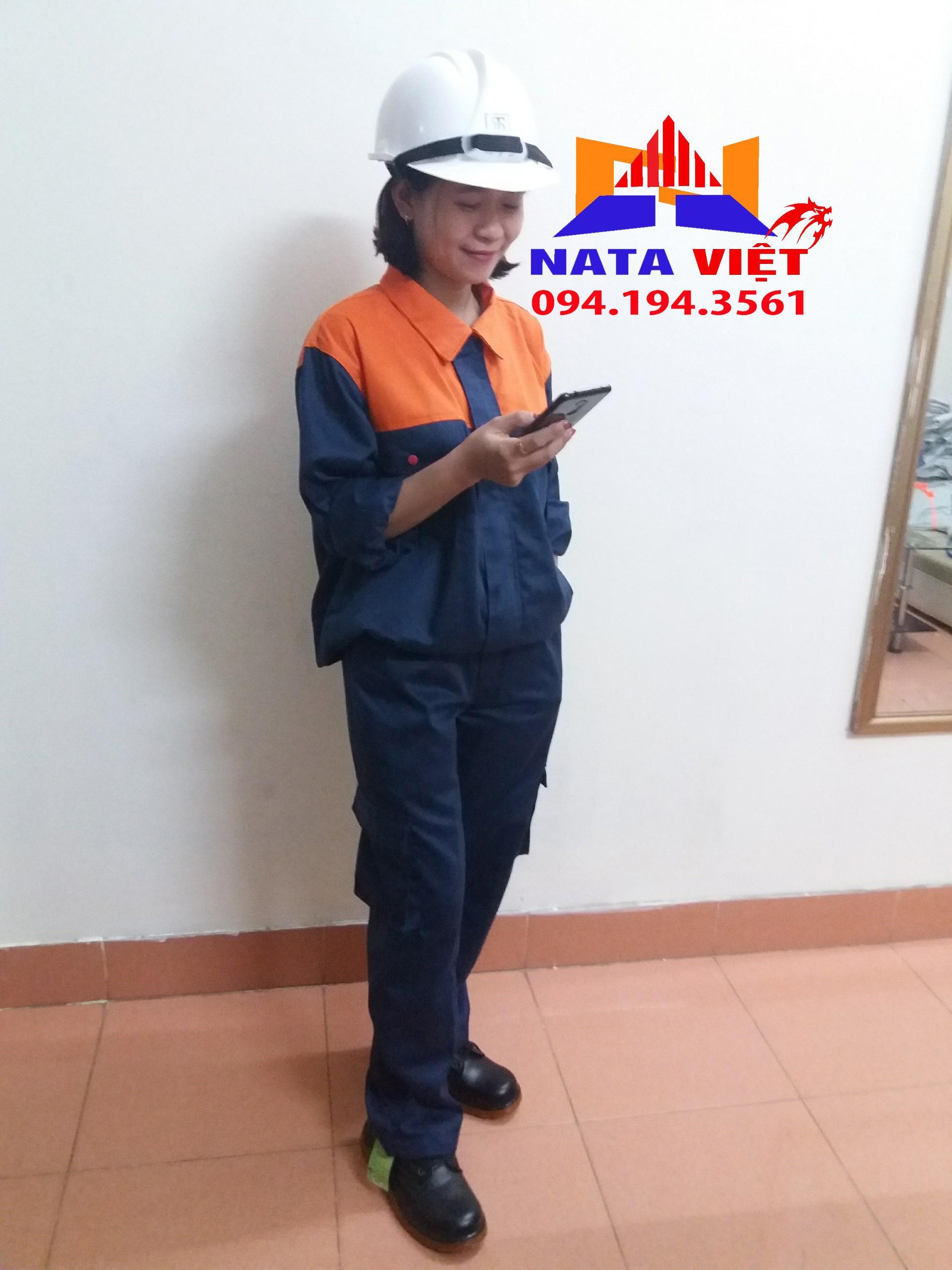 Bộ quần áo bảo hộ lao động size 5
