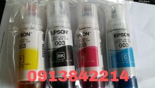 mực 003 Epson 4 màu 1 bộ cho epson L3110 L3150 L1110 L4150 thumbnail