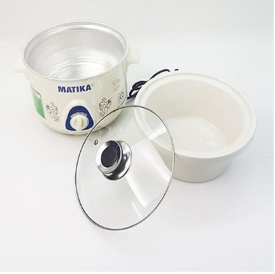 Nồi kho cá nấu cháo - Nồi nấu chậm Matika MTK-9115