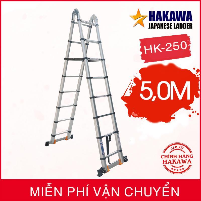 [HAKAWA] Thang nhôm rút đôi cao cấp HAKAWA HK250 - Hàng NHẬT  cho người VIỆT
