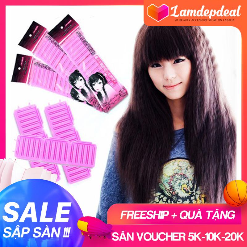 Lamdepdeal - Bộ 6 Kẹp Bấm Tóc Không Dùng Nhiệt Perfection - Dụng cụ làm tóc. cao cấp