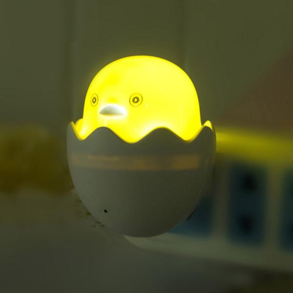 Đèn ngủ phổ biến Dễ thương Mini màu vàng Vịt vàng Đèn ngủ Phòng ngủ trẻ em Sáng tạo Phim hoạt hình Trang trí Nội thất Đèn cắm Hoa Kỳ