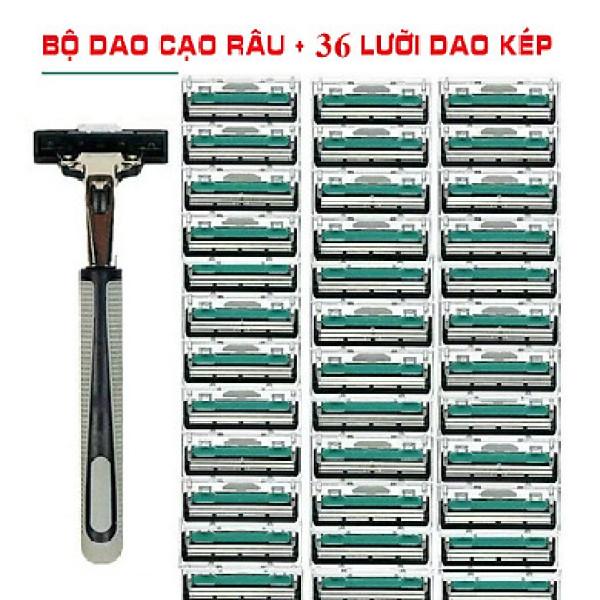 Set dao cạo râu 36 món