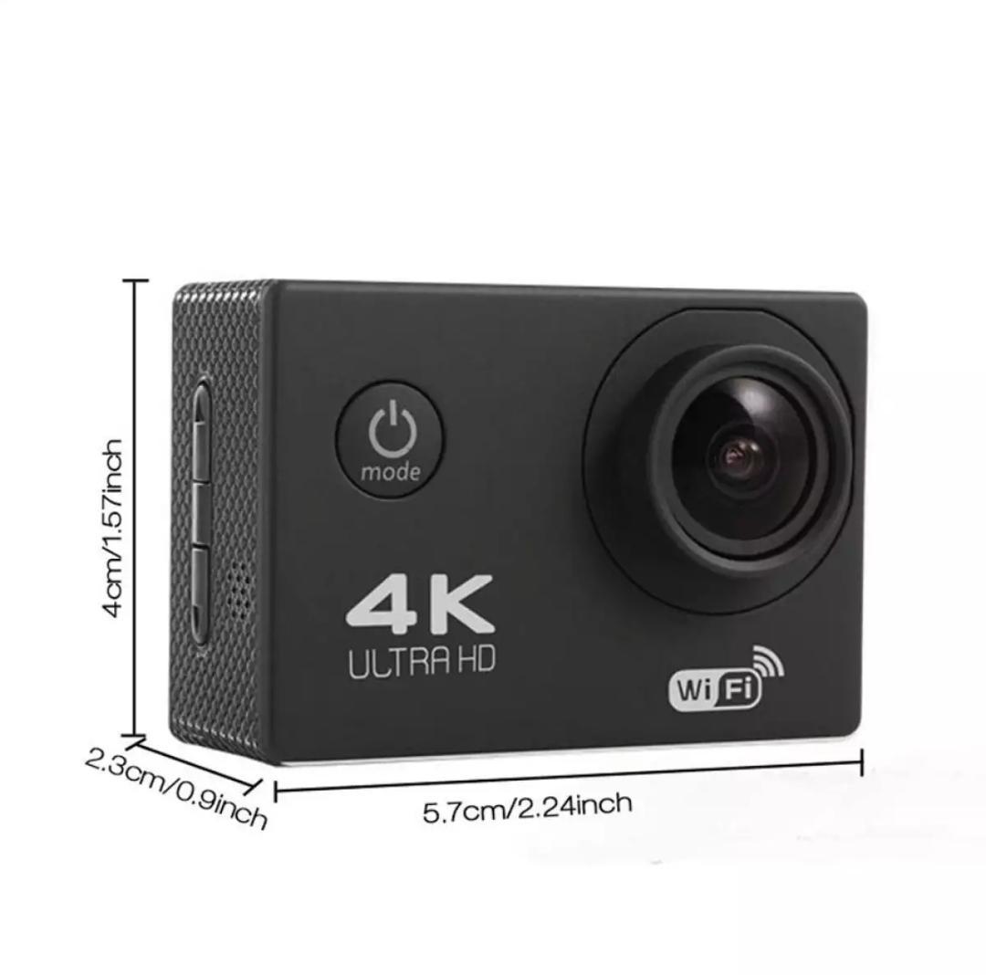 Camera hành trình thể thao chống nước 4K Ultra HD Wifi ( đồng ý kiểm tra hàng trước khi nhận) Nhật Bản