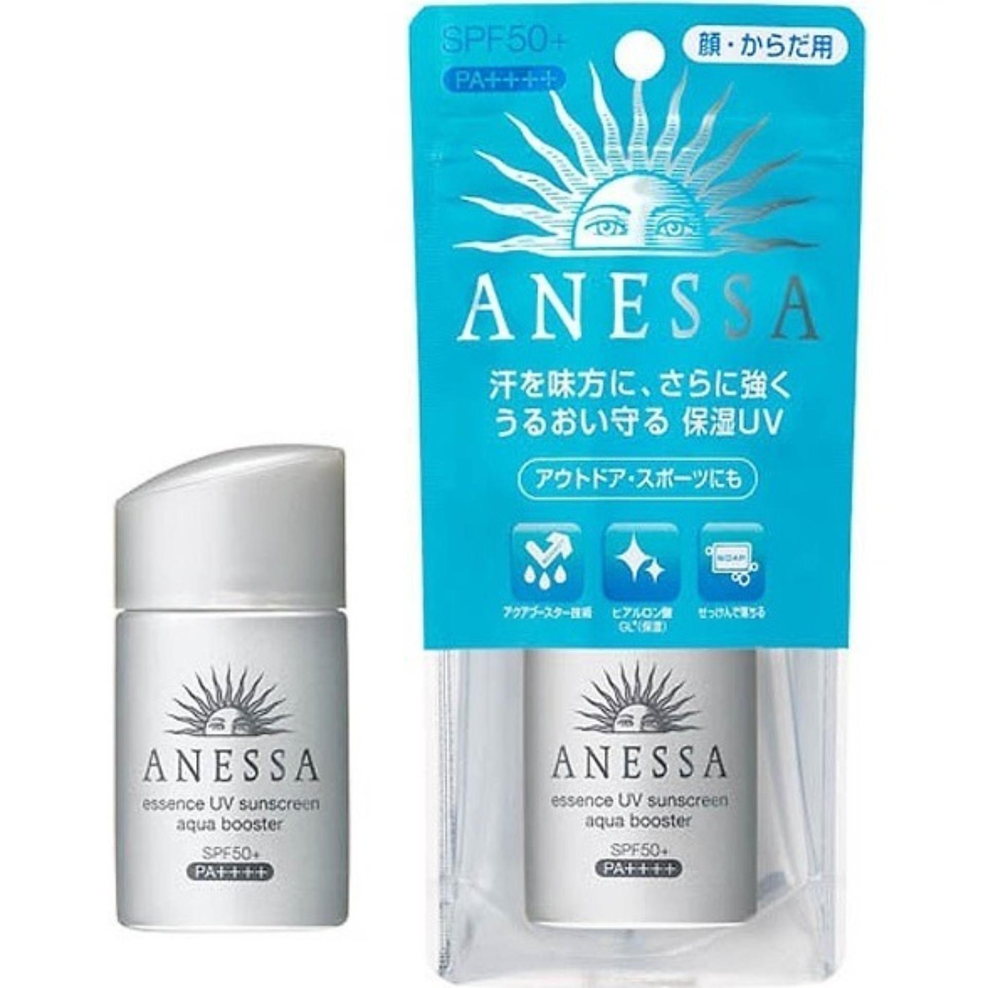 Kem Chống Nắng Shiseid0 Anessa Essence UV Sunscreen Aqua Booster Mini 25ml tốt nhất