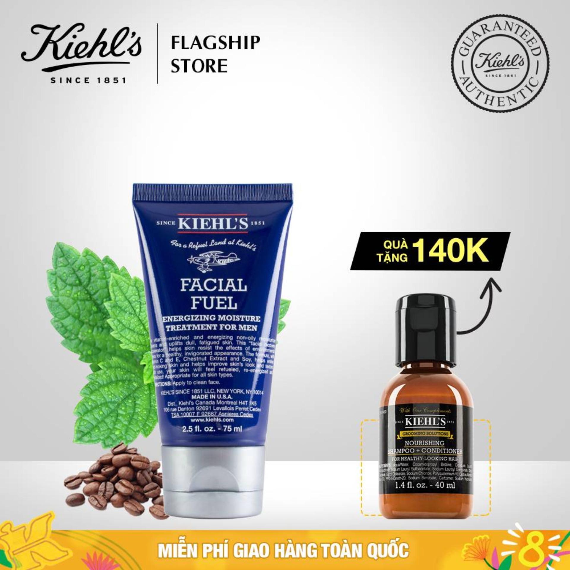 Kem Dưỡng Ẩm Cho Nam Kiehls Facial Fuel Energizing Moisture Treatment For Men 75ML cao cấp
