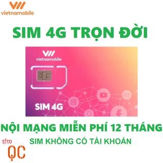 Sim 4G trọn đời 180GB hạn sử dụng 12 tháng tài khoản 0đ thumbnail