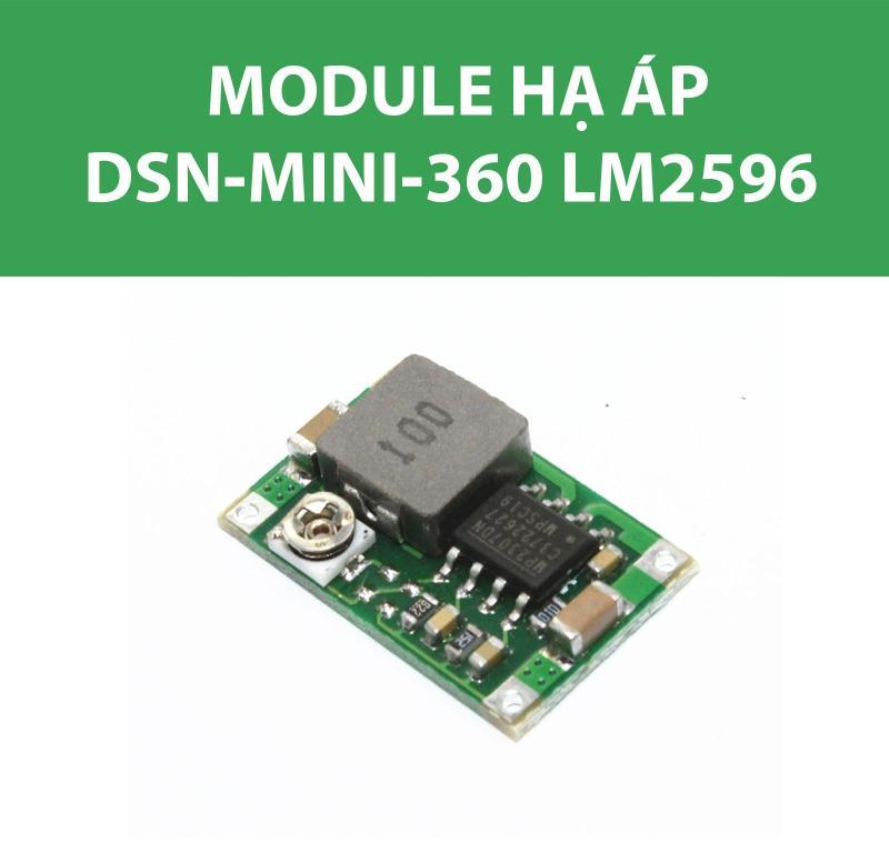 Bảng giá Module Hạ áp - Mạch Buck Mini360 LM2596 3A (DSN-MINI-360)