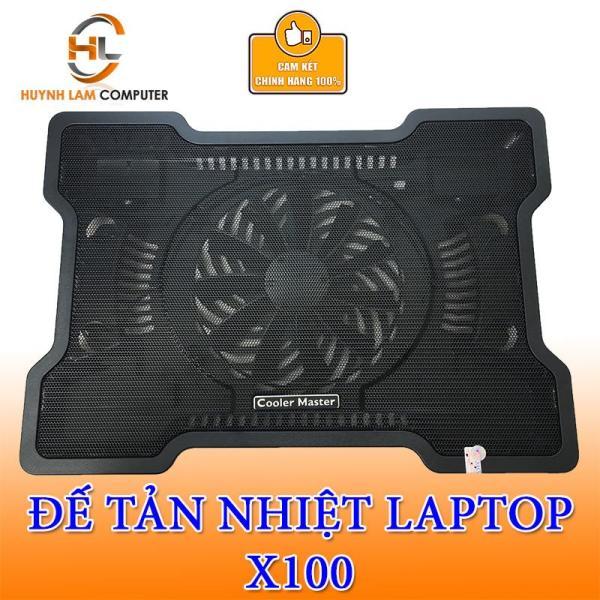 Bảng giá Đế Tản Nhiệt Laptop Cooler Master X100 Hỗ Trợ Laptop 14inch Đến 15inch Hãng Phân Phối Phong Vũ