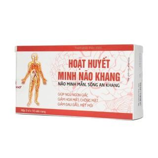 Hoạt Huyết Minh Não Khang - Hỗ trợ làm giảm các triệu chứng rối loạn tiền đình thumbnail