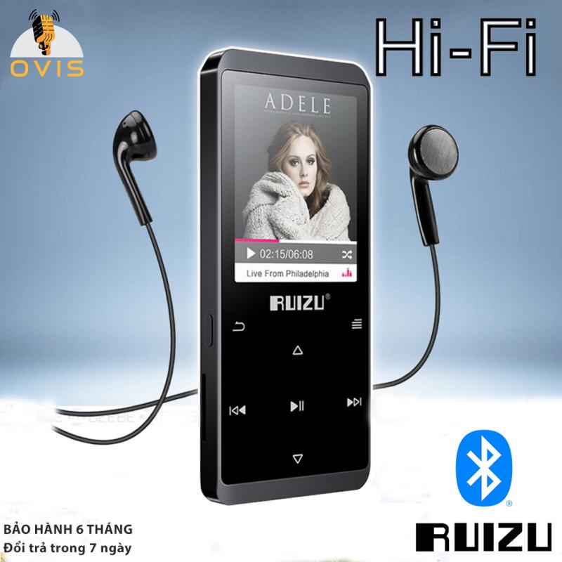 [BH 1 ĐỔI 1] Máy Nghe Nhạc MP3/Lossless Ruizu D02 Có Bluetooth Và Loa Ngoài