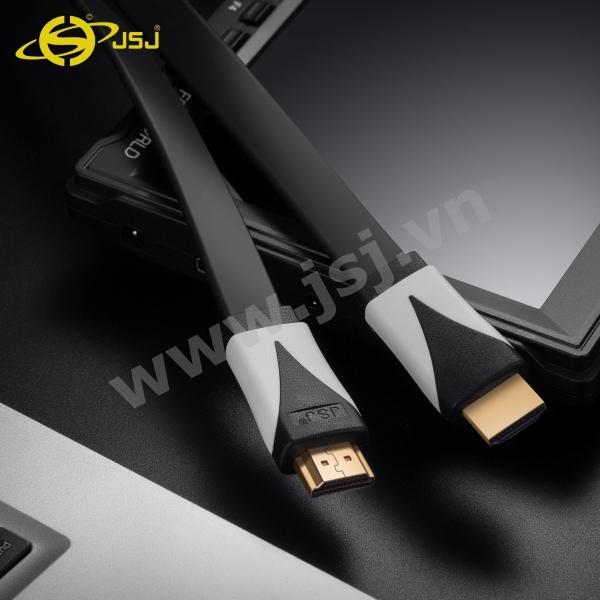 Bảng giá Dây Cáp HDMI Dài 1.8m Loại Dẹp JSJ-H600 Điện máy Pico