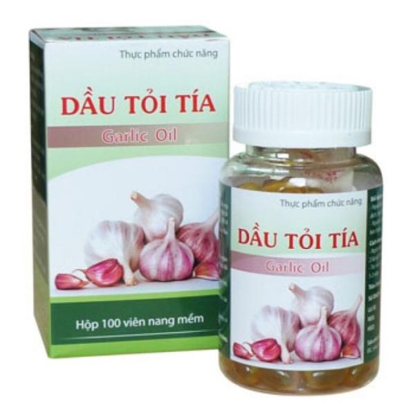 Dầu tỏi tía - 100 viên - tăng cường miễn dịch, hạ mỡ máu, gan nhiễm mỡ, men gan cao