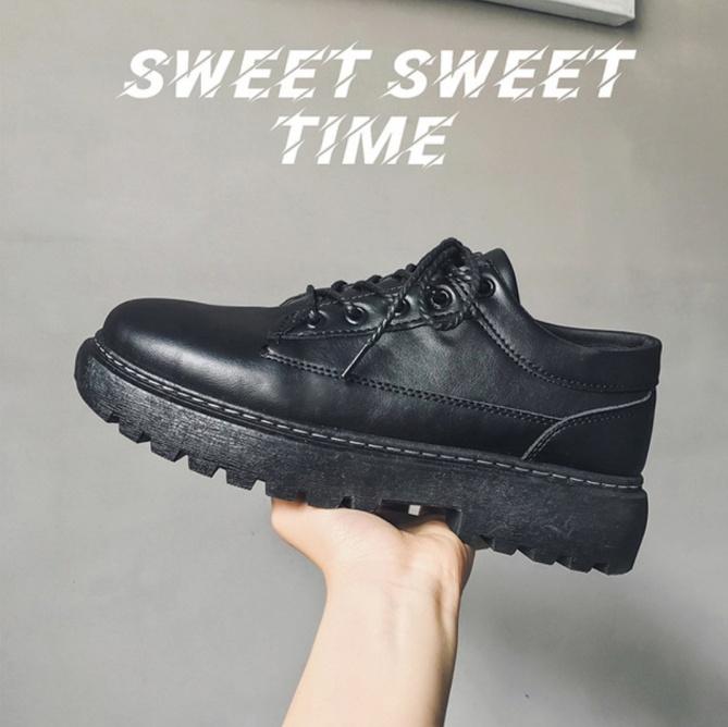 Giày da nam tăng chiều cao - mẫu 2020 khâu đế bền bỉ - mã ZM02-3 giá rẻ