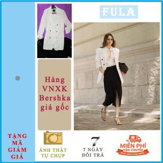 [CÓ VIDEO] Áo khoác nữ dạng vest dáng blazer Bershka màu trắng kem xuất dư , xịn full tem mác chíp , thời trang công sở cao cấp , sang trọng , trẻ trung , thanh lịch , kiểu tôn dáng , cá tính như sao Hàn Quốc . Fula thumbnail