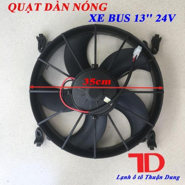 Quạt dàn nóng Xe Bus 13 inch 24V 120W cánh đẩy JKH261PH