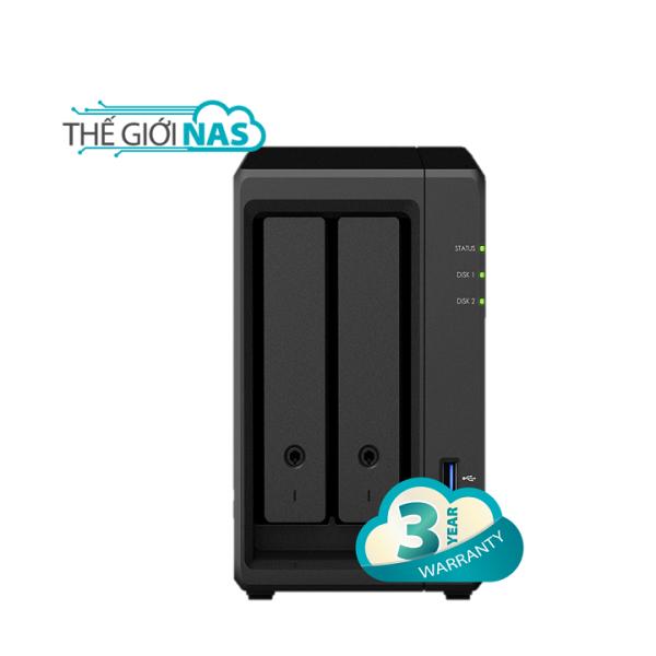 Bảng giá Thiết bị lưu trữ mạng NAS Synology DS720+ Phong Vũ