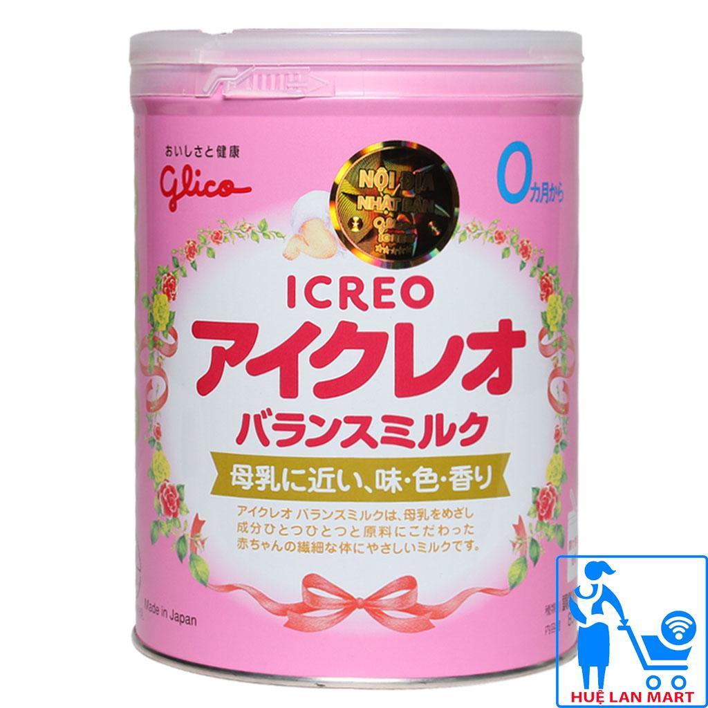 Sữa Bột Glico Icreo Số 0 - Hộp 800g (Cho trẻ 0~12 tháng tuổi)
