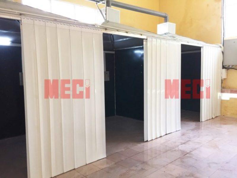 Rèm Nhựa PVC Ngăn Tia Lửa Hàn – Nhựa PVC Cản Sáng
