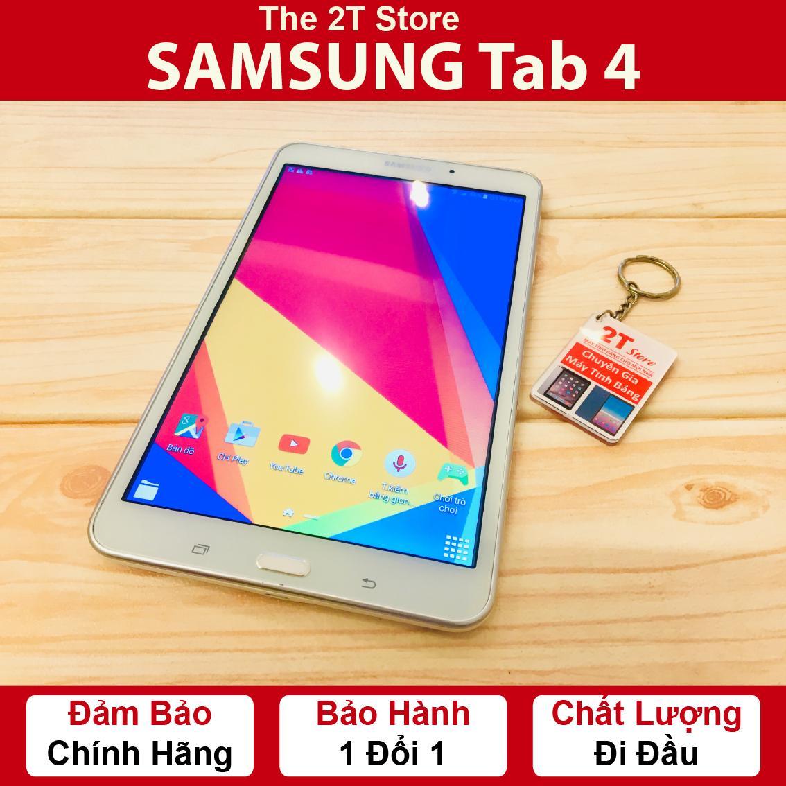 Máy Tính Bảng Samsung Galaxy Tab 4 (Wifi+4G) (Màu Trắng) Giá Giảm