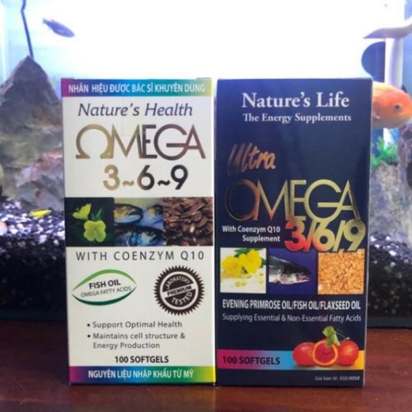 OMEGA 369 - Tăng cường thị lực cho mắt, giúp sáng mắt, tốt cho da, tim mạch - Đen