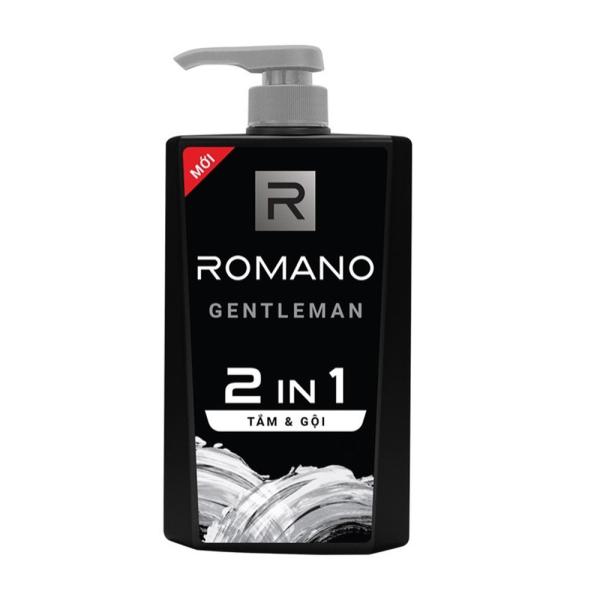 Tắm gội 2 trong 1 Romano Gentleman 650gr